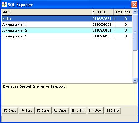 OBS/Auswertung/G SQL Exporter – OBS Wiki